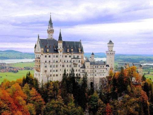 精美的歐美風格建筑空間素材_心中的城堡圖片