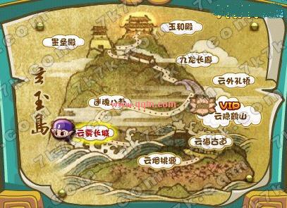 洛克王国玄玉岛地图抢先看