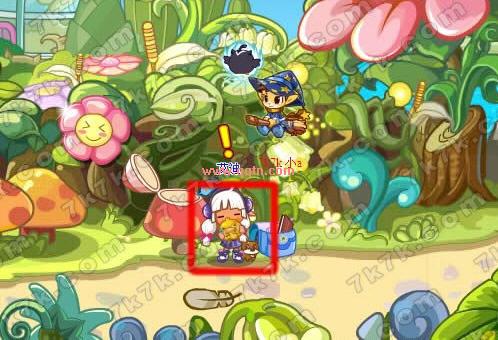 qq宠物欢乐谷在哪里_洛克王国艾迪在植物园里_QQ下载网