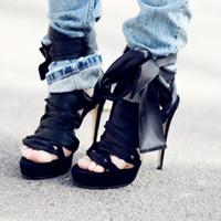 高跟鞋子QQ头像 女性必备的单品吸引你的眼球