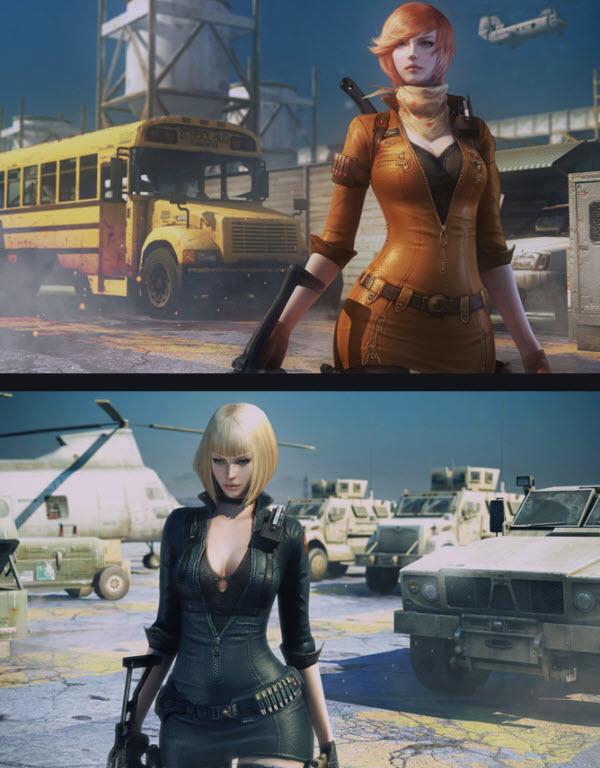 CF曼陀罗人物图片 全新女角色 神秘女子部队