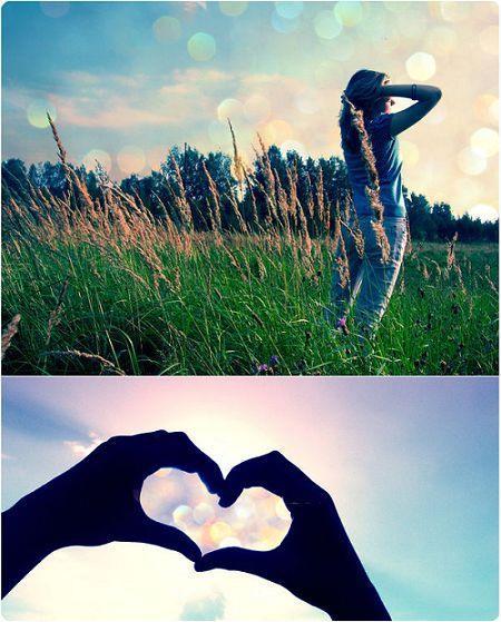 甜蜜QQ空间图片 寂寞是一种自由,让眼睛看着背影远走