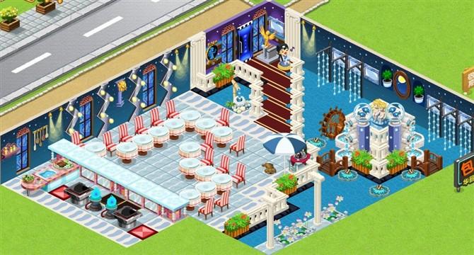 qq餐厅最新装修_qq餐厅装修_qq炫舞复古餐厅