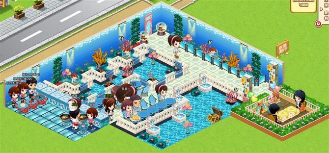 最新格调qq餐厅装修集合 浪漫沙滩