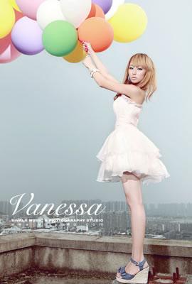 親自放飛屬于愛情的氣球_唯美女生非主流qq空間圖片圖片