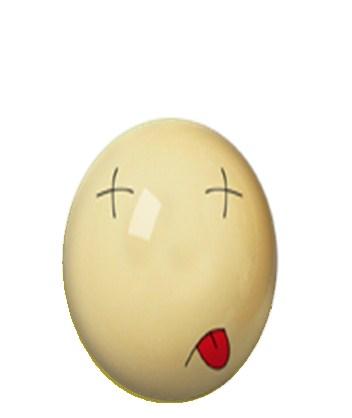 网友原创圣蛋QQ表情圣诞节QQ表情_QQ下载真人表情包加菲猫版gif图片