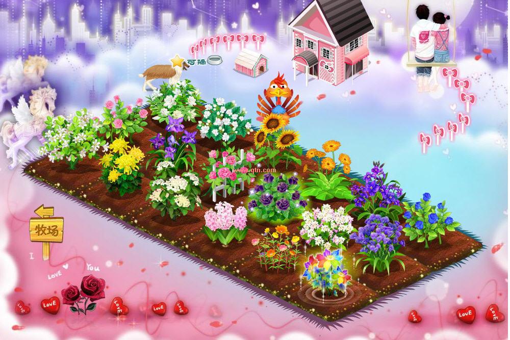 qq农场里的水仙花_qq农场里多少种花,花名分别是什么哪些