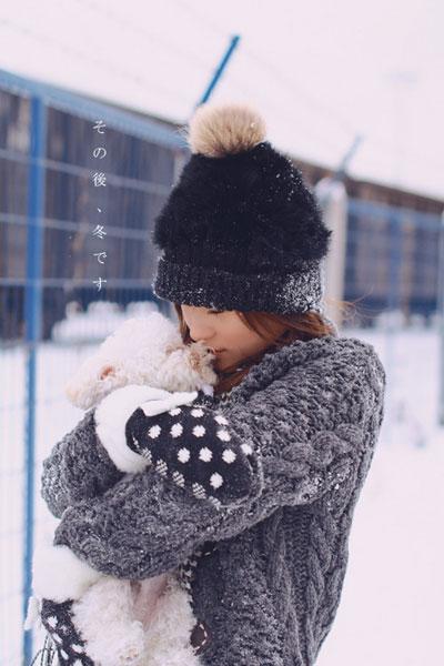 學會用勇敢來替代依賴_唯美冬季女生qq空間非主流圖片圖片