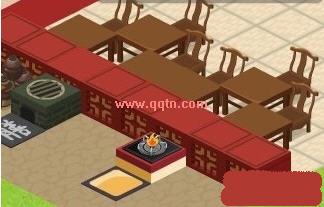 qq餐厅 桌椅摆放 qq餐厅装修