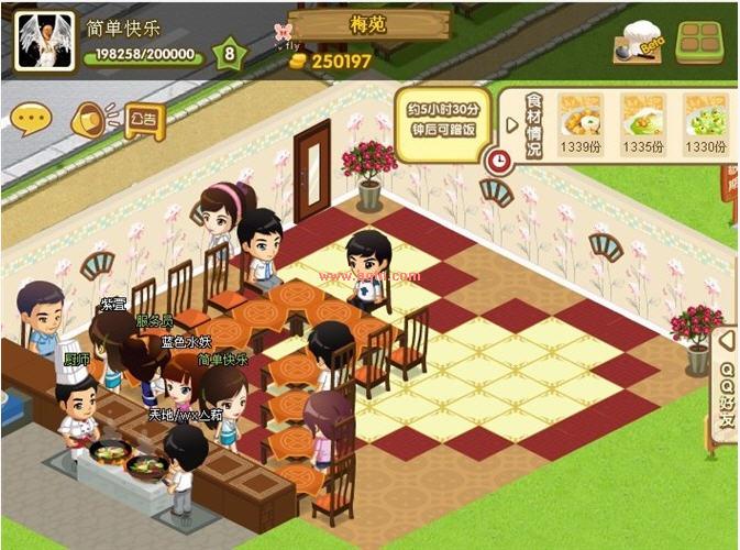 8级qq餐厅装修创意(儿童作品)