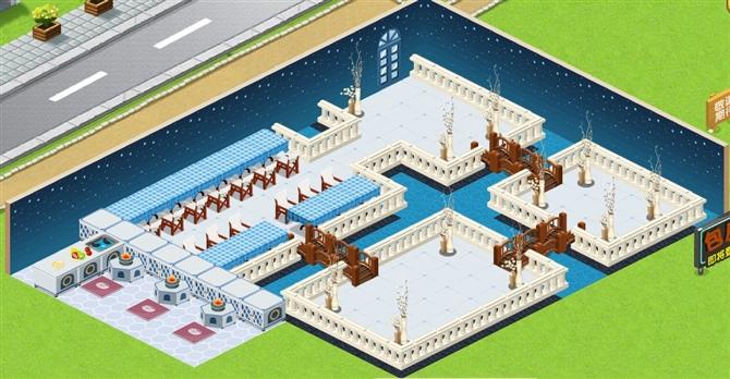 qq餐厅经典装修(11张效果图)