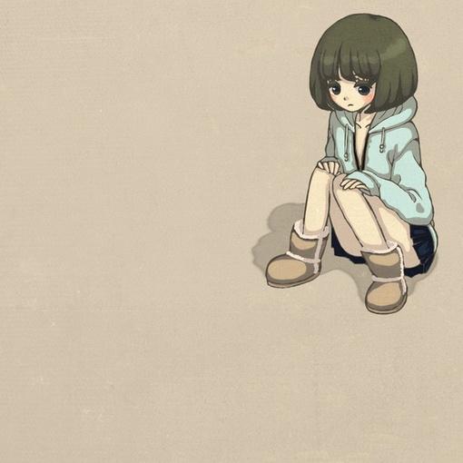 ... 里面寻找短暂的满足_可爱卡通动漫QQ空间女生图片