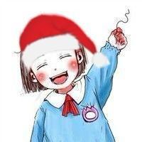带圣诞帽卡通(7)