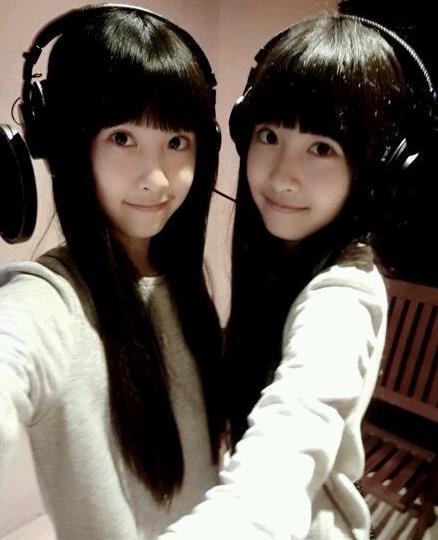 台湾双胞胎姐妹花图片