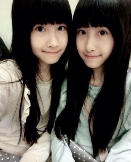 双胞胎姐妹花图片 sandymandy可爱清纯的空间皮肤