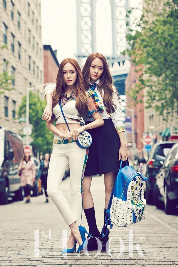 郑氏姐妹图片 Krystal和Jessica空间皮肤素材_腾牛个性网 F(x) Krystal And Jessica