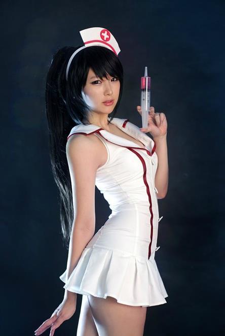 卡丽/LOLCOS阿卡丽护士皮肤