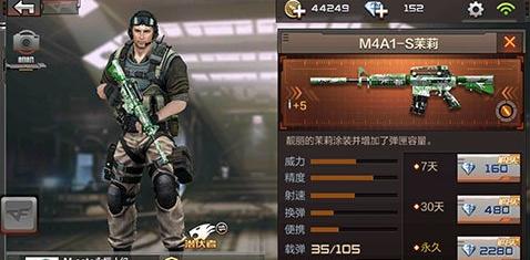 CF手游M4A1 狼牙怎么样 M4A1狼牙性价比分析