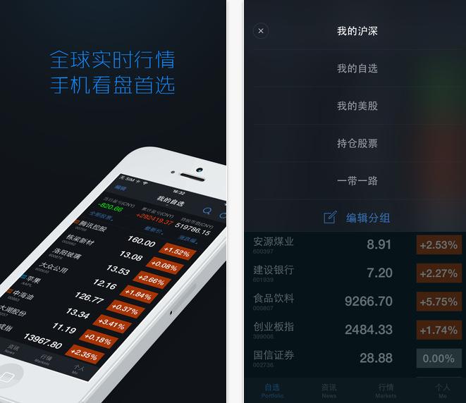 腾讯自选股下载|自选股iPhone版3.8.0 官方版_