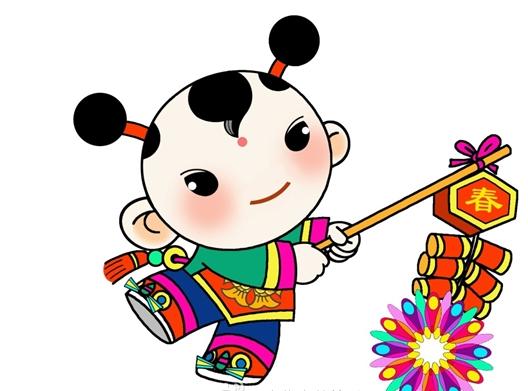 2016春节吉祥物发布 年娃和春妮为中华春节吉祥物