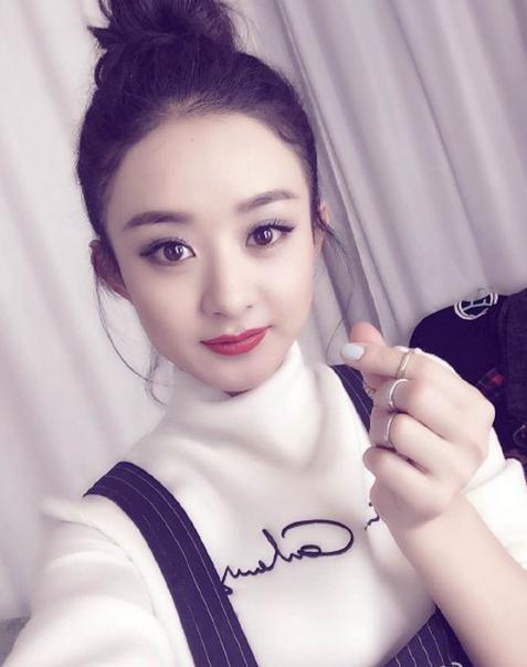 赵丽颖图片生活照高清2016最新