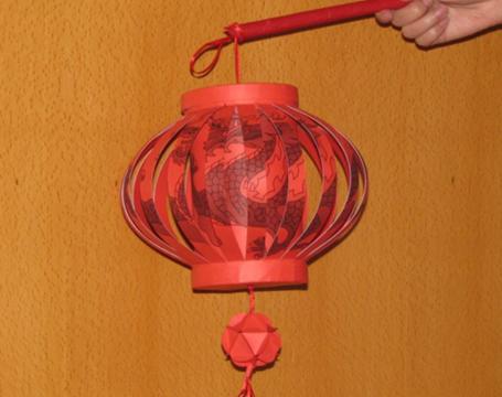 新年花灯手工制作方法