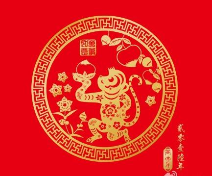 2017春节鸡年桌面壁纸