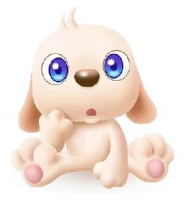 2013最新qq表情大全_超可爱的3D小狗QQ表情_腾牛个性网